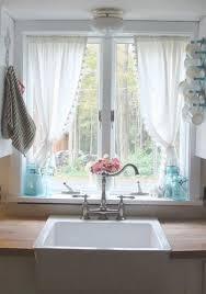 Kitchen Curtain Ideas Pictures by Best 25 Kitchen Window Curtains Ideas On Pinterest Farmhouse