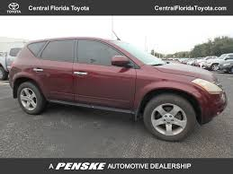 100 Drs Truck Sales 2005 Used Nissan Murano 4dr S FWD V6 At Central Florida Toyota