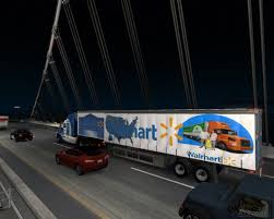 Combo Skin Walmart Peterbilt 579 And Trailer | American Truck ... Walmart Loses Pay Fight With California Truck Drivers Ordered To Amazoncom Walmart Truck Carry Case 14 Die Cast Cars Toys Games Advanced Vehicle Experience Concept Youtube American Simulator America Doubles Atmpted Driver Found Bodies In At Texas Lived Louisville Truck Trailer Transport Express Freight Logistic Diesel Mack Combo Skin Peterbilt 579 And Trailer What Its Really Like Live The Parking Lot 25000 Grant Helps Food Pantry Buy New Belvidere