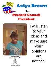 2 Aniya Brown ForStudent Council
