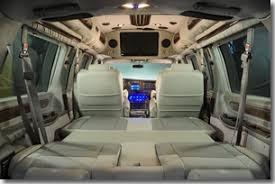 Explorer Van Fold Down Seating