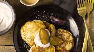 topfen pancakes mit zimtcreme gutekueche at