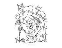 Three Billy Goats Gruff Coloring Pages 19 Page