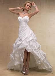 maggie sottero a line wedding dresses high low wedding dresses