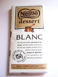 chocolat blanc nestlé dessert 180 gr kauf kaufen
