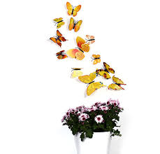 Butterfly Wall Decor Target by Blue 12 Pcs 3d Butterfly Wall Stickers Art Decor Decals Rosegal Com