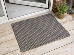 details zu pad outdoor matte jim grau beige 72x92 fussmatte teppich pad concept badematte