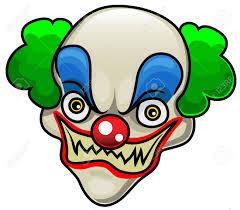 Evil Clown Pumpkin Stencils by Halloween Kids Royalty Free Stock Photography Image 5664897