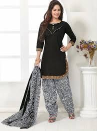 Elegant Cotton Designer Patiyala Unstitched Dress Material Salwar Suit DNo B210