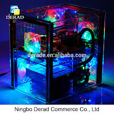 Pc C004q Transparent Acrylic Anime Computer Case Gaming Water