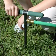 Xmas Tree Waterer by Watering Properly With A Deep Root Irrigator