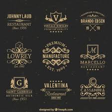 Vintage Badges Free Vector