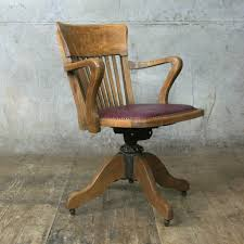 Wood Captains Chair Plans by Interesting 70 Vintage Wooden Office Chair Design Decoration Of
