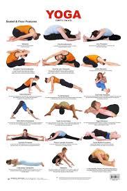 Calm Clipart Yoga Poses 15