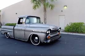 Video: This LS Swapped '59 Apache Is One Badass Restomod 1959 Chevy Napco 3100 Pick Up Truck 4x4 1958 1957 61955 4wd 1959vyapache3100hreequarterjpg 161200 Trucks 195559 Truck Chassis Roadster Shop Chevrolet Apache Wallpapers Vehicles Hq File1959 Pickupjpg Wikimedia Commons 5559 And Gmc Trucks Home Facebook Ebrake Youtube Capt Hays American Soldier Truckin Magazine To For Sale On Classiccarscom 18 13 Available For Apache31 Shortbedstepside Ez Swaps