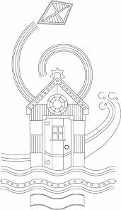 Free Summer Holiday Beach Hut Coloring Page For Thecoloringbookclub