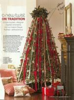 tree decorations ideas with ribbons santa pole tree and decorating ideas