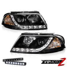 world brightest black led smd projector headlights ls world s