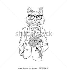 Gentleman Cat Free Psd Download 6 For Commercial Use