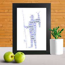 Personalised Gift For Daddy Word Art Prints Word Art App