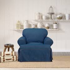 Bed Bath And Beyond Sure Fit Slipcovers by Buy Sure Fit T Cushion Slipcovers From Bed Bath U0026 Beyond