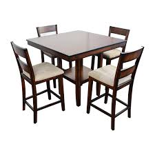 66% OFF - Macy's Macy's Branton 5-Pc. Counter-Height Dining Set / Tables Quality Macys Fniture Ding Room Sets Astounding Macy Set Macys For Exotic Swanson Peterson 32510 Home Design Faux Top Cra Pedestal White Marble Corners New York Solid Wood Table 3 Chairs 20 Circle Inspiring Elegant Los Feliz And Chair Red 100 And Tables Altair 5pc 4 Download 8 Beautiful Inside