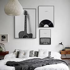 zy nordic gitarre einfache abstrakte wohnzimmer sofa