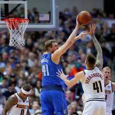 NBA Dirk Nowitzki Unterliegt Mit Dallas Mavericks Nuggets Doncic