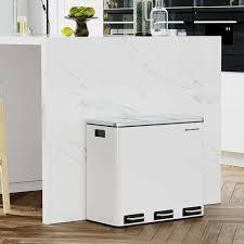 gebraucht mülleimer für die küche mülltrennsystem 3 x 18 l