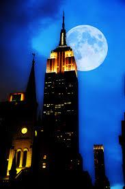 Free light sky skyline night skyscraper new york
