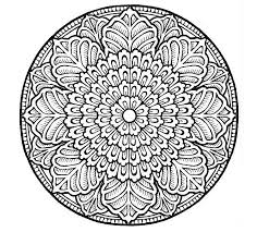 Beautiful Coloring Mandala At 498 Free Pages For Adults