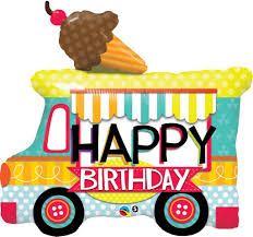 100 Ice Cream Truck Products B045 Happy Birthday MATTEO PARTY