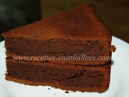 gâteau tout chocolat recettes ensoleillees