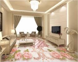 Aliexpress Comprar Costumbre Mural 3d Room Decor Pintura Suelo De Parquet Europea Rose Suave Pvc Autoadhesivo Foto Murales Pared Wallpaper