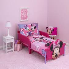 Minnie Mouse Twin Bedding by Disney Minnie Mouse Hearts And Bows 4 Piece Toddler Bed Set Toys
