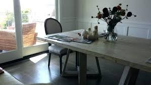 Houzz Dining Tables Restoration Hardware Table Winsome Room Traditional Rooms