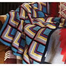 Debbie Bliss Log Cabin Blanket PDF Magazine 9 at WEBS