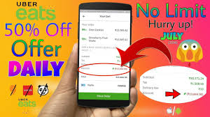 Get Flat 50% Off On Any Food You Order On Uber Eats (No Order Limit) 😍  (How To) - JULY 2018 10 Off Uber Eats Best Promo Code For August 2019 100 Working How To Get Cheaper Rides With Codes Coupons Coupon Code Off Uber Working Ymmv 13 Through Venmo Slickdealsnet First Order At Ubereats Ozbargain Top Punto Medio Noticias Existing Users 2018 5 Your Next Orders This Promo 9to5toys Discount Francis Kim 70 Off Hong Kong Aug Hothkdeals Ubereats Coupon Deals Codes Ubereats Flat 25 From Cred App Applicable For All Save Upto 50