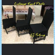 Instock Skirt Chair Covers, Furniture, Others On Carousell