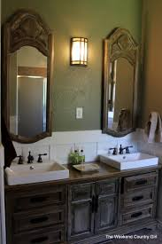 Aquasource Pedestal Sink Rough In by Turning A Dresser Into A Bathroom Vanity The Weekend Country