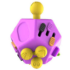 China 12 Sided Fidget Cube Anti Anxiety Depression Toys For Children And Adults