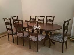 Chinioti Style Wooden Dining Table Set