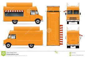 100 Oc Food Truck Vector Illustration Stock Vector Illustration Of