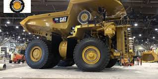 Caterpillar's Massive 794AC Mining Haul Truck On The Move. (Video ...