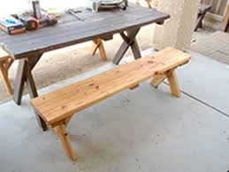 diy home made picnic table bench 12 15 youtube