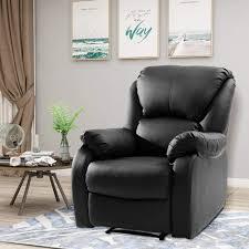 famgizmo high back fernsehsessel relaxsessel leder sofa tilt