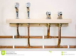 And Cold Water Pipes Photo by And Cold Water Taps And Pipes Royalty Free Stock Photos