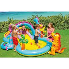 Amazon.com: Intex Dinoland Inflatable Play Center, 131
