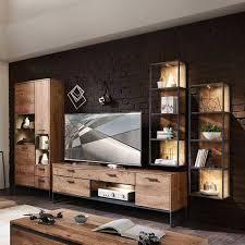 wohnwand designmöbel set xindus 4 teilig