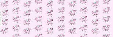 Pink Cute Unicorns Twitter Header